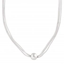 Silpada 'Thoreau' Multi-Strand Bead Necklace